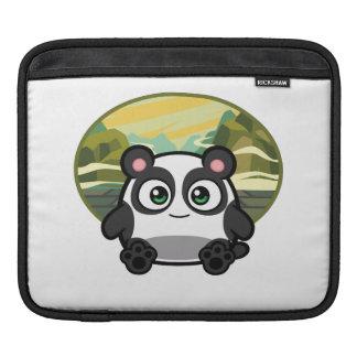 Boo as Panda iPad Pad Horizontal Sleeve For iPads