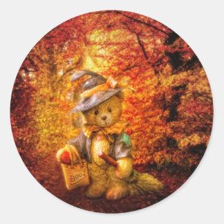 Boo Bear Classic Round Sticker