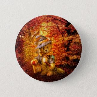 Boo Bear Pinback Button