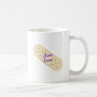 Boo Boo Bandage Classic White Coffee Mug