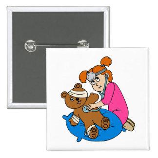 Boo-Boo Bear & Kid Doctor Button