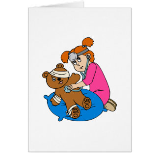 Boo-Boo Bear & Kid Doctor Card