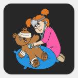 Boo-Boo Bear & Kid Doctor Sticker