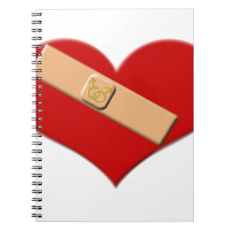 Boo-Boo Better (male male) Spiral Notebook