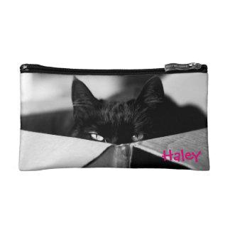 Boo Boo Black Kitty Cosmetic Bag