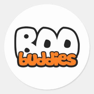 Boo Buddies Classic Round Sticker