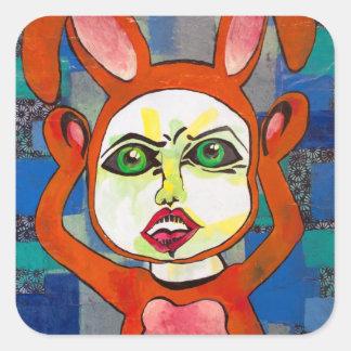 Boo Bunny Friend Sticker