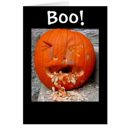 Boo! Card - the B is silent