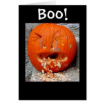 Boo! Card - the B is silent Card