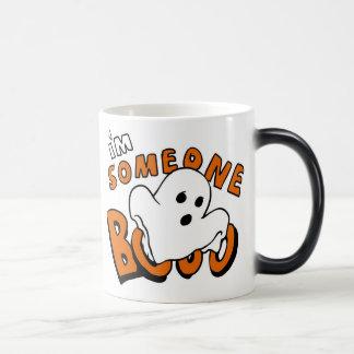 Boo - cartoon ghost - baby ghost - funny ghost magic mug