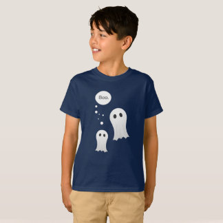 Boo Cartoon Ghosts Cute Halloween T-Shirt