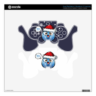 Boo Christmas Products Skin For PS3 Controller