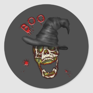 Boo Classic Round Sticker