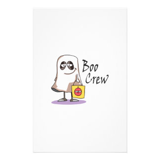 BOO CREW GHOST CUSTOMIZED STATIONERY