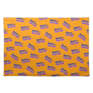BOO DAY HALLOWEEN Placemats Cloth Placemat