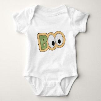 BOO Eyeballs Halloween Art Baby Bodysuit