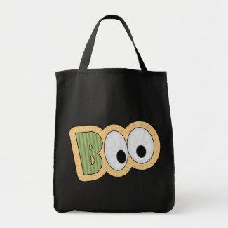 BOO Eyeballs Halloween Art Canvas Bags