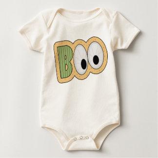 BOO Eyeballs Halloween Art Bodysuit