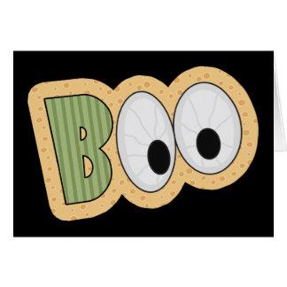 BOO Eyeballs Halloween Art Card
