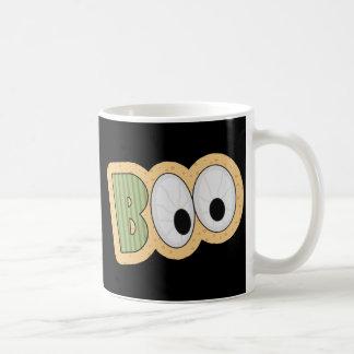 BOO Eyeballs Halloween Art Coffee Mug