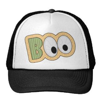 BOO Eyeballs Halloween Art Mesh Hat