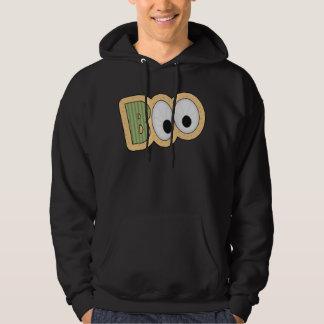 BOO Eyeballs Halloween Art Hoodie
