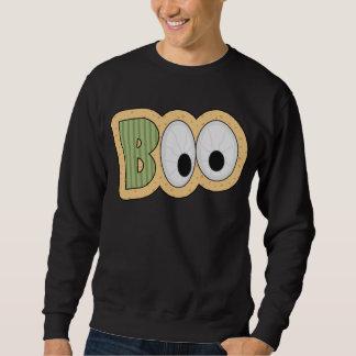BOO Eyeballs Halloween Art Pullover Sweatshirts