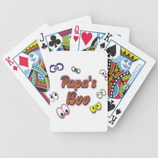 BOO EYES PAPA BICYCLE PLAYING CARDS