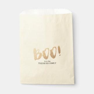 Boo! Favor Bags