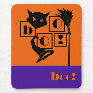 Boo! Fun Halloween Gift Mousepads