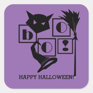 Boo! Fun Halloween Stickers