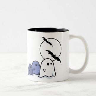 Boo ! Funny Little Ghosts. Halloween Mug