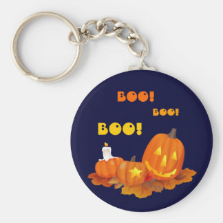 Boo! Funny Little Ghosts Keychain