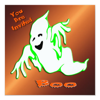 Boo Ghost 1 Halloween Invitation