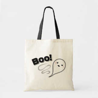 Boo! Ghost Budget Tote Bag