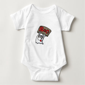 Boo Ghost, Halloween design Baby Bodysuit