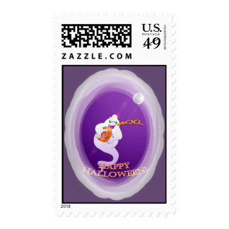 Boo Ghost Postage Stamps