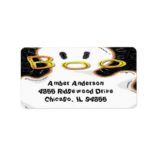 Boo Ghost Return Address Labels