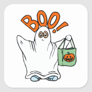 Boo Ghost Stickers