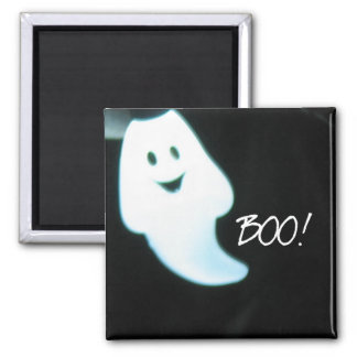Boo Ghostie 2 Inch Square Magnet