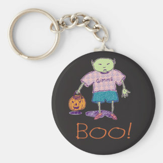Boo! Ghoulie Keychain