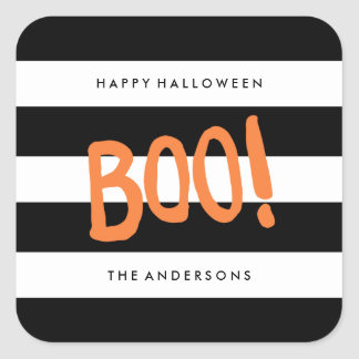 Boo! | Gift Tag Stickers