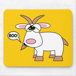 Boo! Goat Mouse Pad