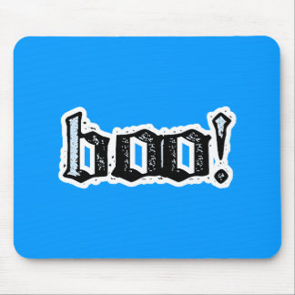 Boo! Gothic Engraved Mouse Pad