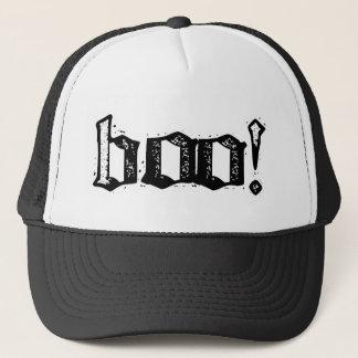 Boo! Gothic Engraved Trucker Hat