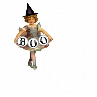Boo Gril figurine Standing Photo Sculpture