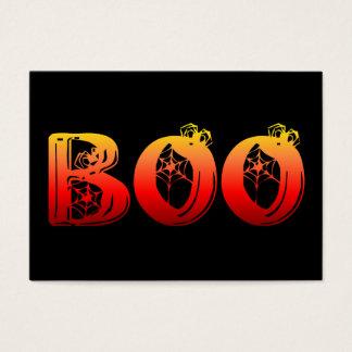 Boo Halloween Business Card