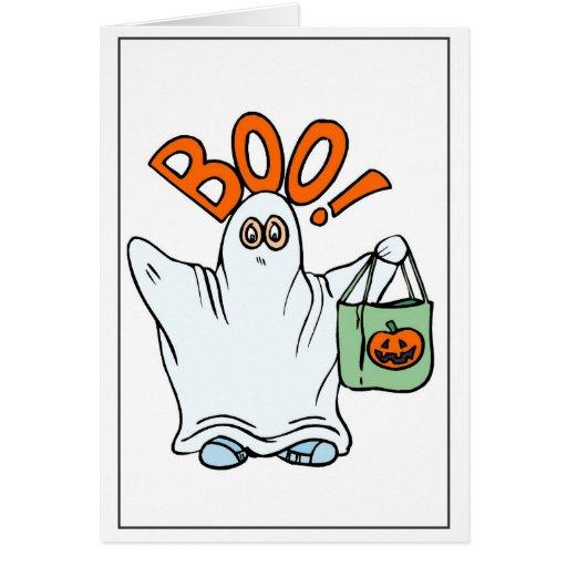 Boo! - Halloween Card