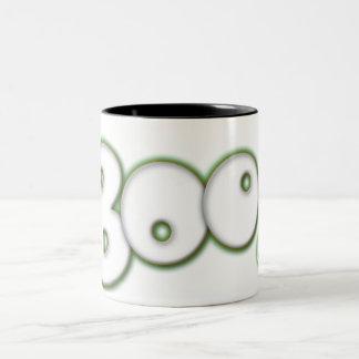 'Boo!' Halloween Coffee Mug - with scary eye.