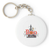 Boo Halloween For Kids - Funny Halloween Costumes Keychain